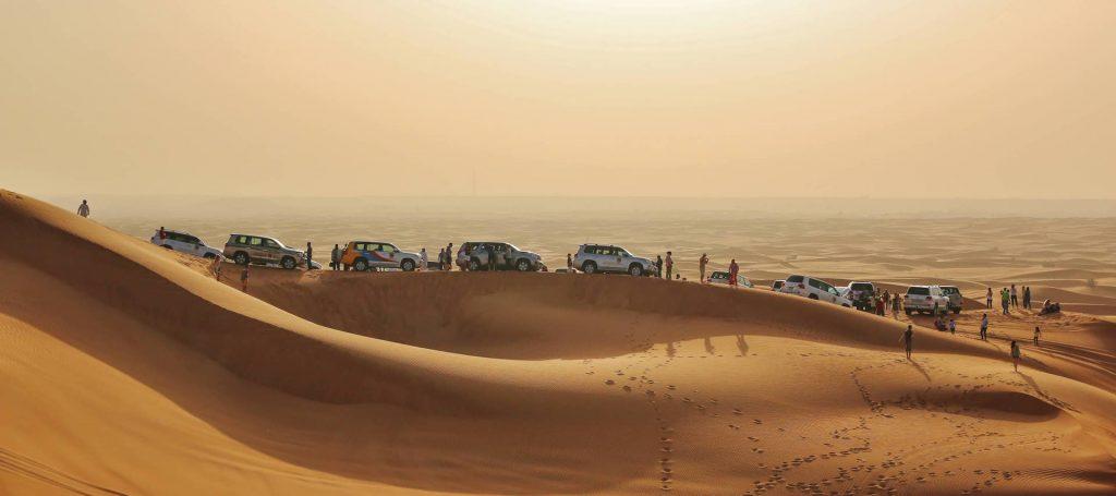 Dubai e 4x4 no deserto